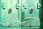 Rome doorway