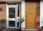 Door before/after