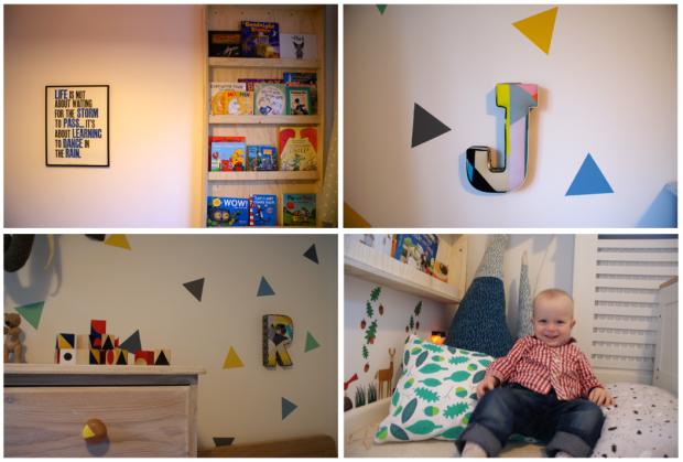Montage boy's room