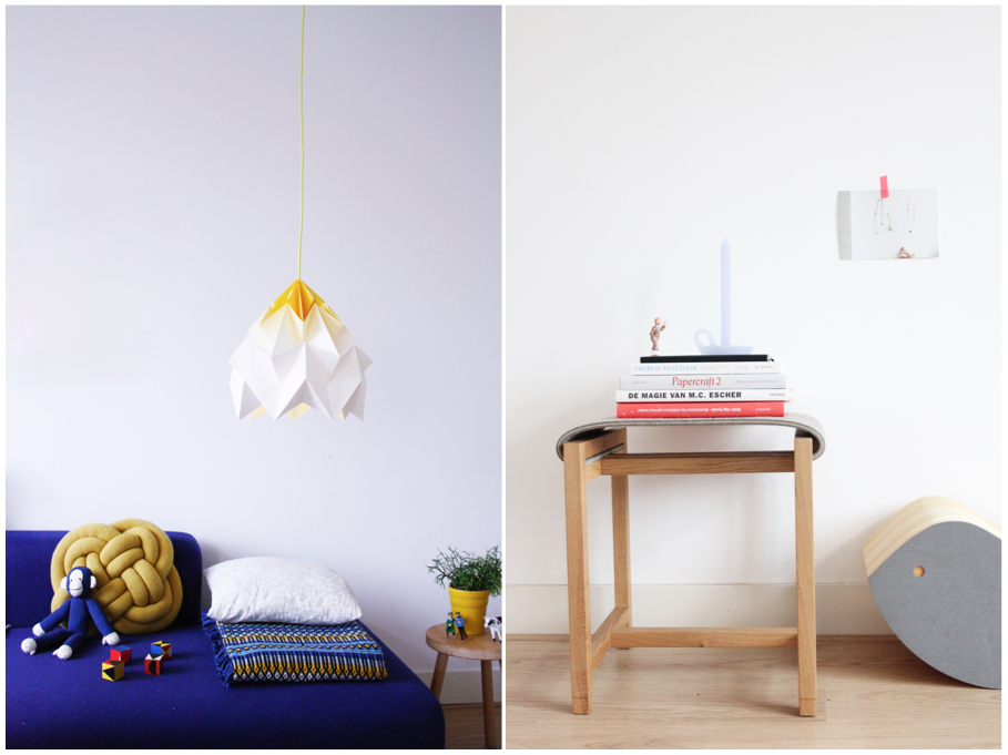Studio Snowpuppe Lamp : Formakers origami lampshade studio snowpuppe